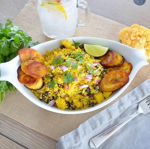 cuban cauliflower rice