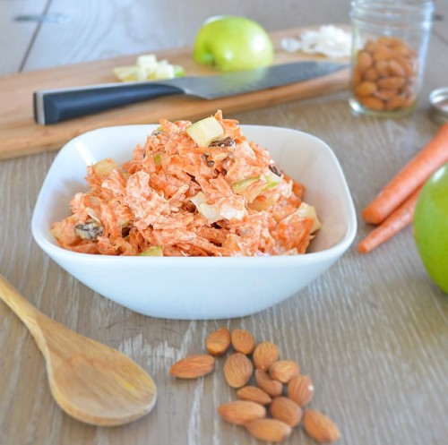 Sweet N Tangy Carrot Slaw