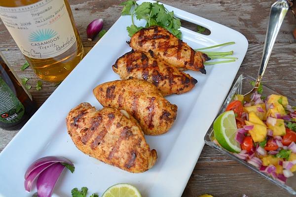 Citrus Tequila Chicken