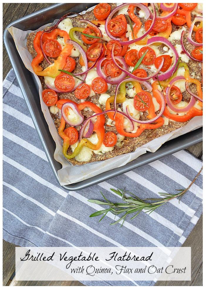 Grilled Vegetable Flatbread