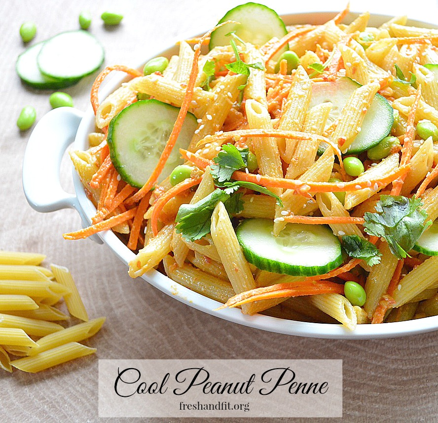 cool peanut penne recipe