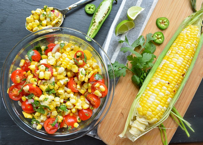 Tropical Corn Salad Recipe Fresh and Fit