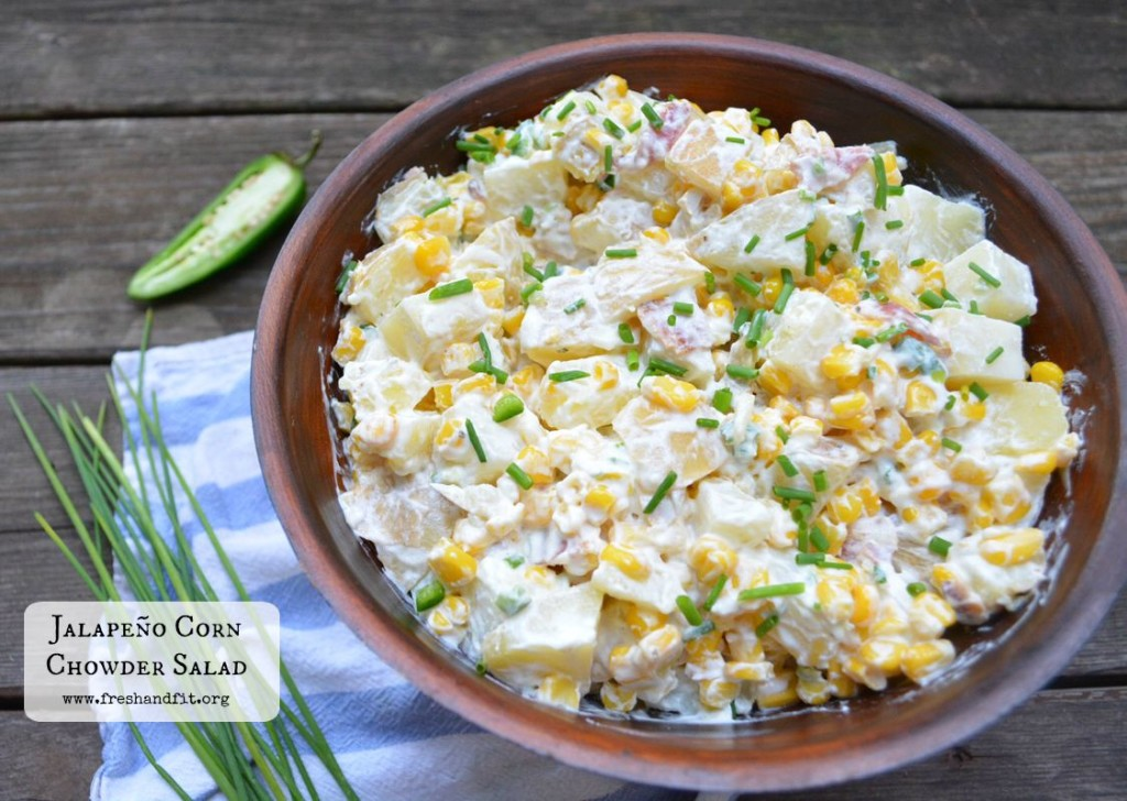 Corn Chowder Salad RECIPE