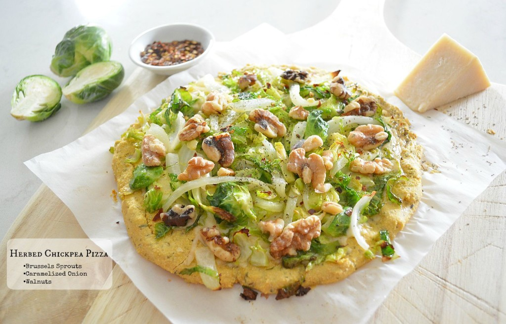 herbed chickpea pizza 2