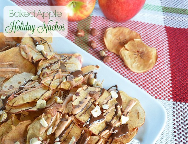 Baked Apple Holiday Nachos 1