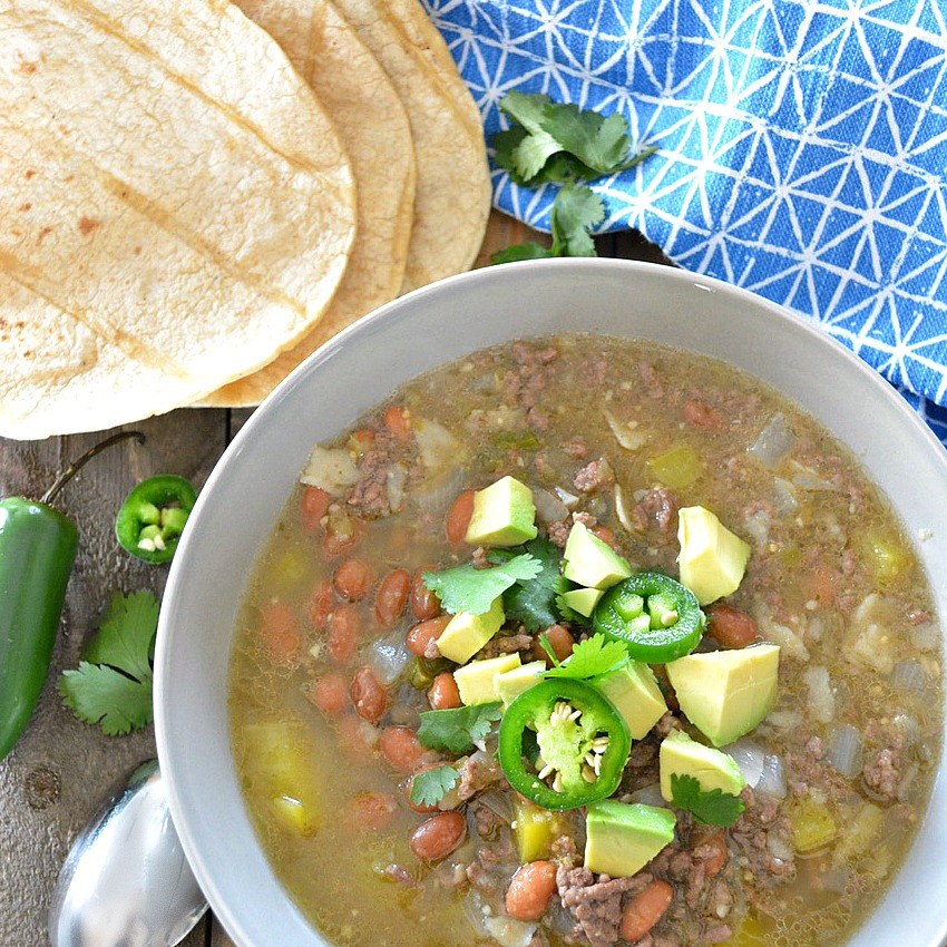 Tortilla Chili Verde