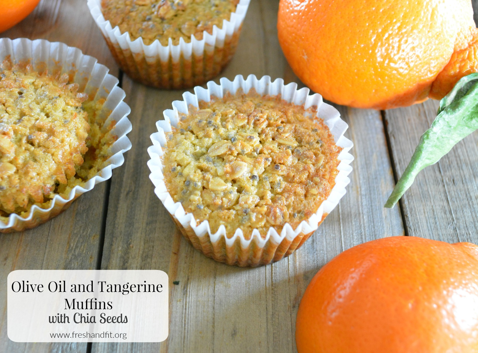 Olive Oil and Tangerine Muffins with Chia Seeds - Fresh ...