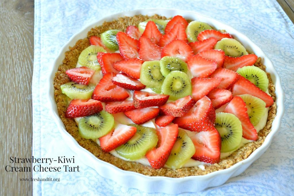 Strawberry Kiwi Cream Cheese Tart Main Image
