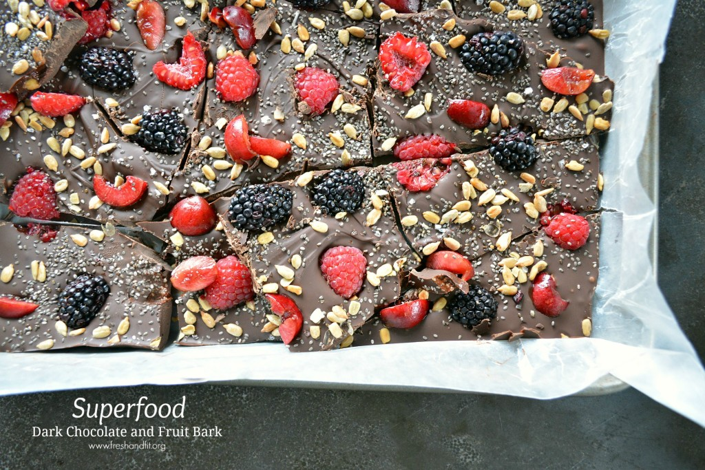 Superfood Dark Chocolate and Fruit Bark Main Image