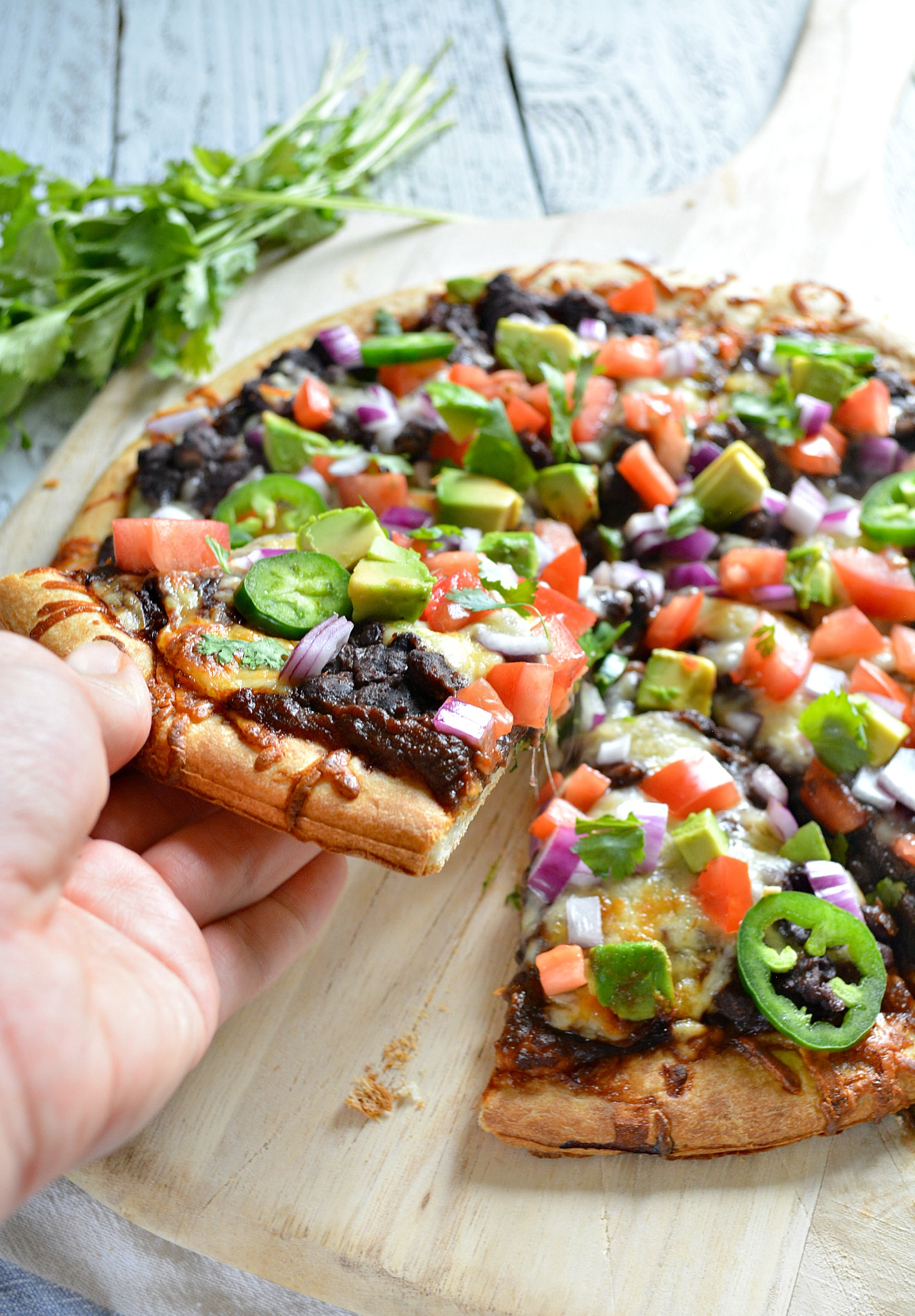 Mexican Style Pizza Featuring Better Bean Co.