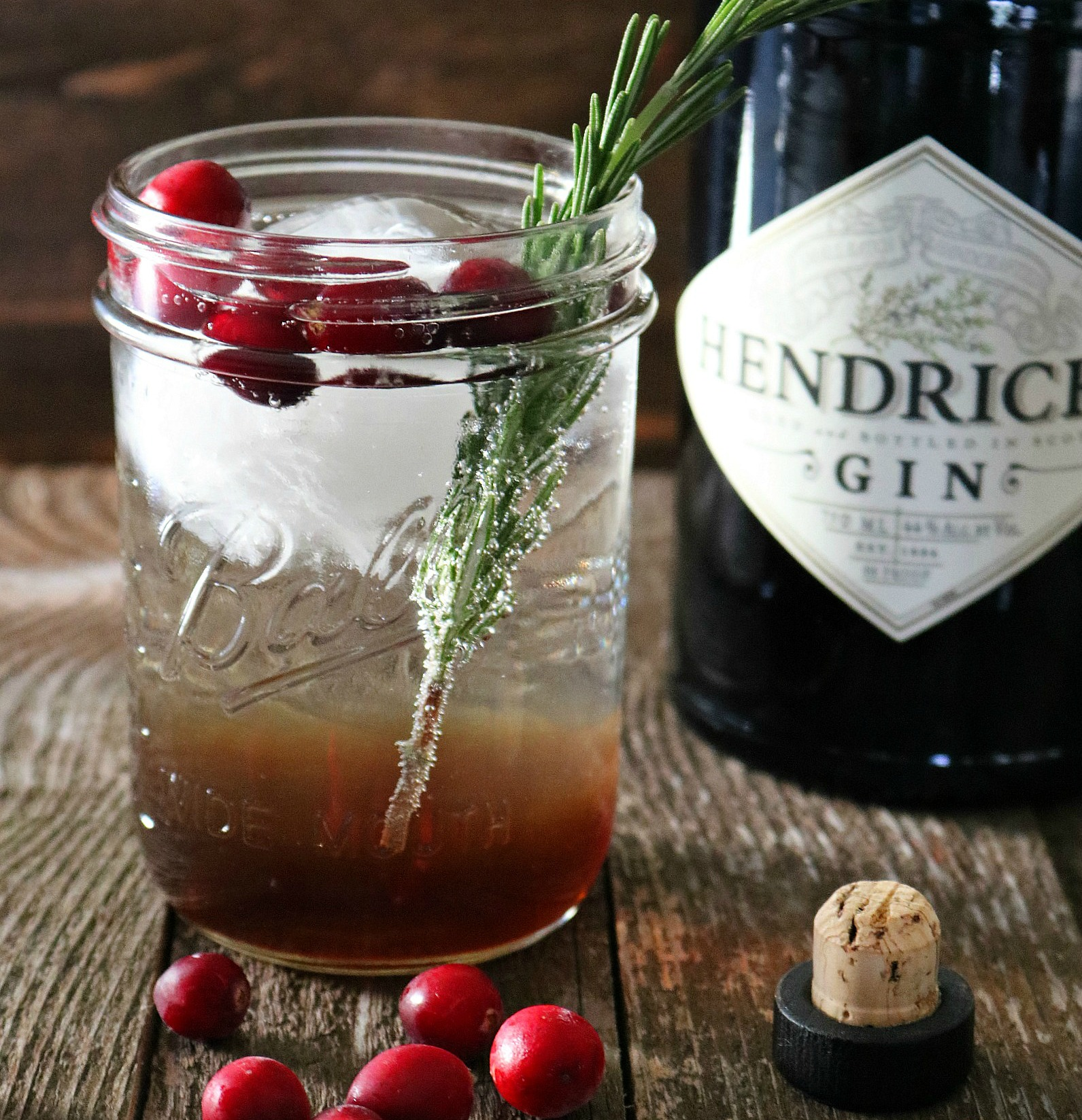 Spiced Holiday Gin Fizz